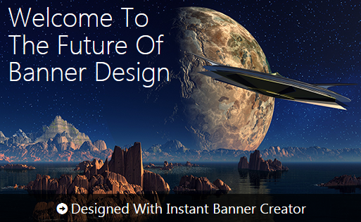 Banner designed with IBC